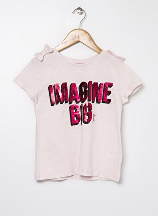 Barbie Kız Çocuk Baskılı Pembe T-Shirt