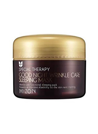 Mizon Good Night Wrinkle Care Sleeping Mask - Yaşlanma Karşıtı Gece Maskesi