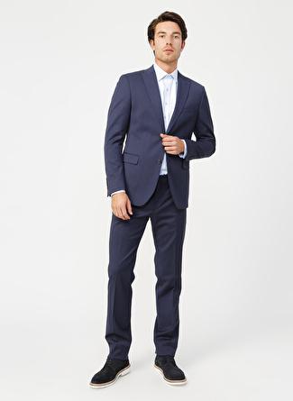 Fabrika Lacivert Erkek Takım Elbise