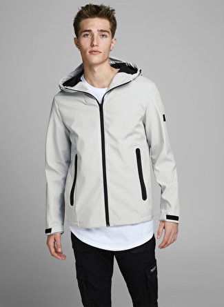 Jack & Jones 12166694 Açık Gri Mont