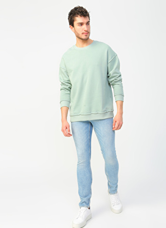 Jack & Jones 12168310 Mavi Denim Pantolon