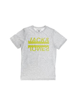Jack & Jones 12174417 Beyaz Melanj T-Shirt
