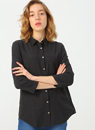 Fashion Friends Siyah Gömlek