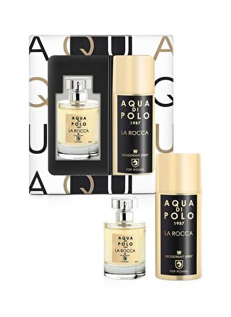 Aqua di Polo 1987 APPXLR03KP La Rocca Parfüm Deodorant Hediye Seti Kadin