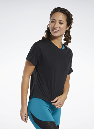Reebok FQ0401 Wor Comm Poly Tee Solid T-Shirt