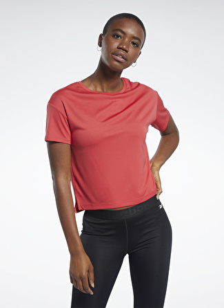Reebok FQ0404 Wor Comm Poly Tee Solid T-Shirt
