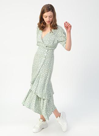 Koton Yeşil Elbise
