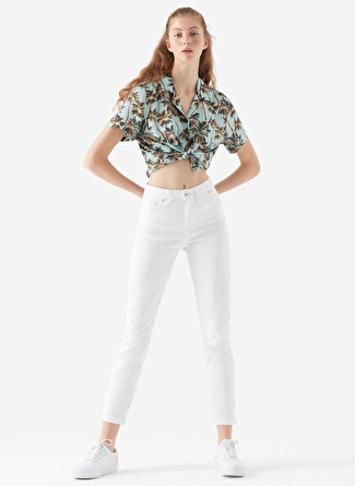 Mavi Cındy White Gold Icon Denim Pantolon