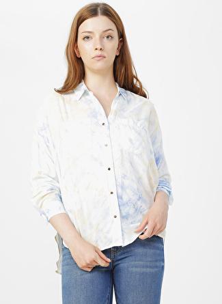 Mavi Uzun Kol Soft Mavi Gömlek