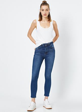 Koton Carmen Yüksek Bel Denim Pantolon