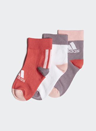 Adidas FN0995 Ankle Socks 3 Pairs Kız Çocuk Spor Çorap