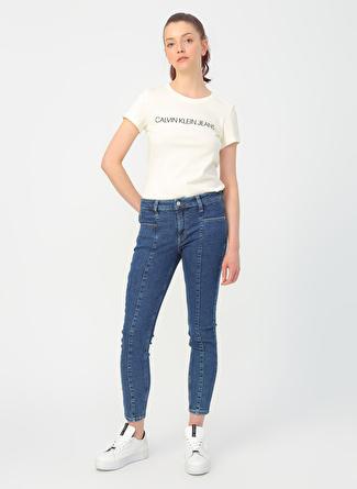 Calvin Klein Koyu Mavi Denim Pantolon