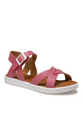 Pink Step Fuşya Sandalet