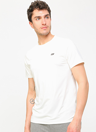 Skechers S201248-100 Performance Tops MCrew Neck T-Shirt