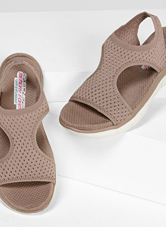 Skechers 31674 Tpe Flex Appeal 2.0 - Deja Vu Sandalet