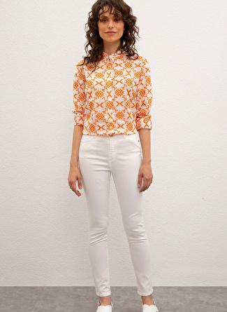 U.S Polo Assn. Beyaz Pantolon