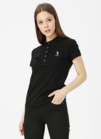 U.S Polo Assn. Siyah T-Shirt