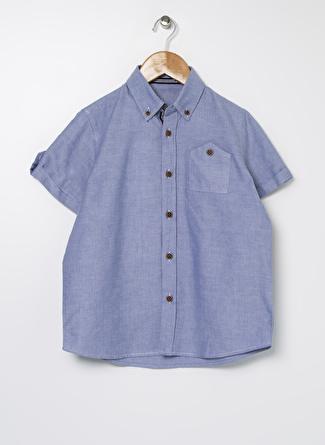 Buse Terim Erkek Çocuk Açık Mavi Gömlek