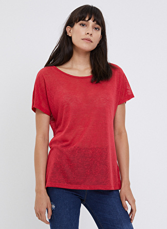 Loft LF 2022847 Red W Tss T-Shirt
