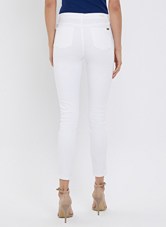Loft LF 2023159 White W Pnt Denim Pantolon