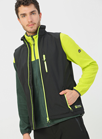Freecamp  FreeCamp Vest Erkek Softshell Yelek