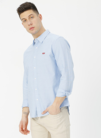 Levi's 86625-0005 Ls Battery Hm Shirt Slim Gömlek