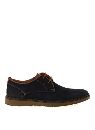 Cotton Bar Lacivert Deri Günlük Ayakkabı
