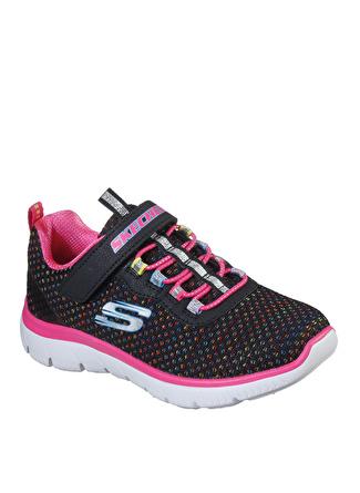 Skechers 302071L BKMT Summits Kız Çocuk Yürüyüş Ayakkabısı