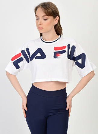 Fila Barr Cropped Wide Kadın T-Shirt