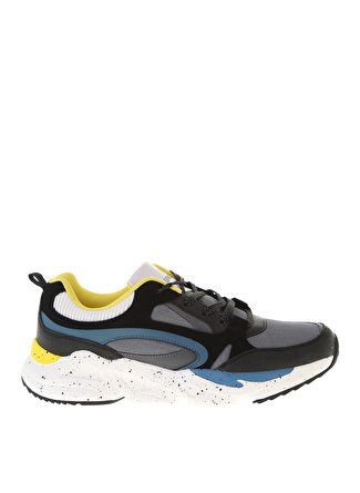 Lumberjack Siyah/Sarı Sneaker