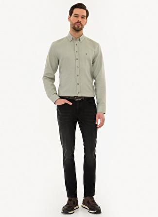 Pierre Cardin Siyah Denim Pantolon