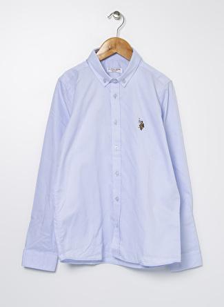 U.S Polo Assn. Açık Mavi Erkek Çocuk Gömlek