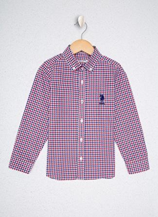 U.S Polo Assn. Lacivert Erkek Çocuk Gömlek