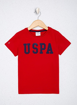 U.S Polo Assn. Kırmızı Erkek Çocuk T-Shirt