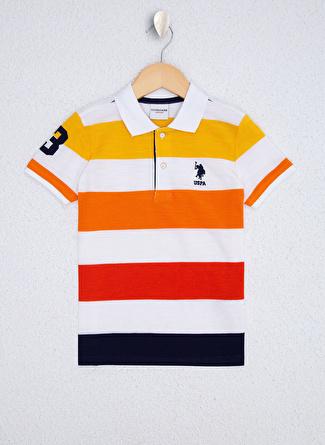 U.S Polo Assn. Koyu sarı Erkek Çocuk T-Shirt