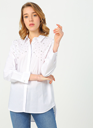 Quzu Beyaz Gömlek