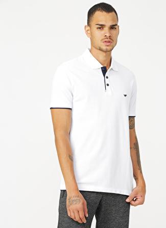 Mustang Göğüs Baskılı Erkek Polo T-Shirt