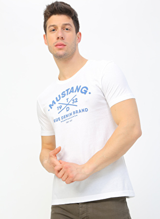 Mustang 1932 Baskılı Erkek T-Shirt