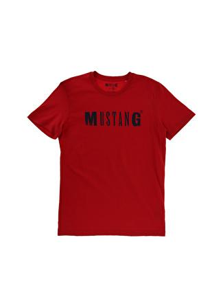 Mustang Baskılı Erkek T-Shirt