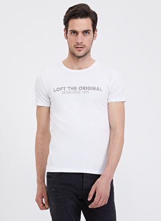 Loft Beyaz T-Shirt