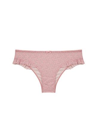 Penti Açık Pembe Bikini Külot