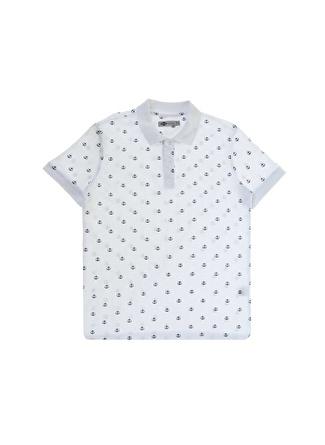 Lee Cooper Pool Beyaz Polo Yaka T-Shirt