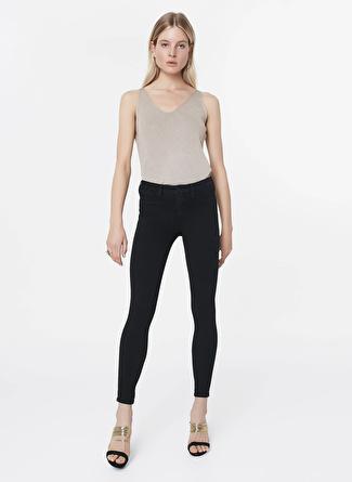 İpekyol Dar Siyah Denim Pantolon