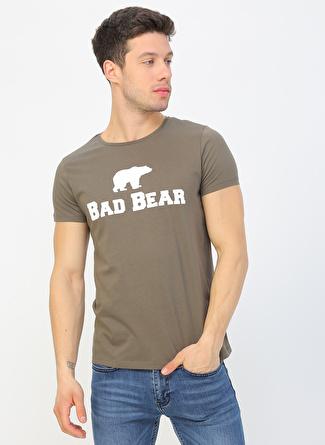 BAD BEAR Koyu Haki T-Shirt
