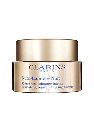 Clarins Nutri Lumiere Night Cream 50 ml Onarıcı Krem