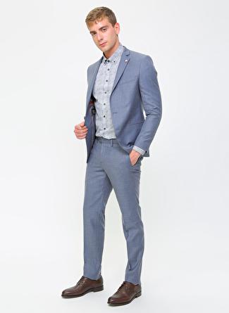 Altinyildiz Classic Mavi Takım Elbise