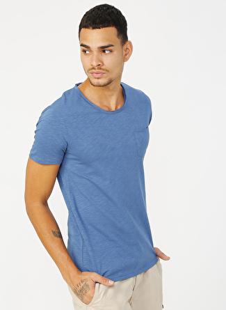 Cazador İndigo T-Shirt