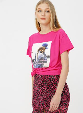Quzu Fuşya T-Shirt
