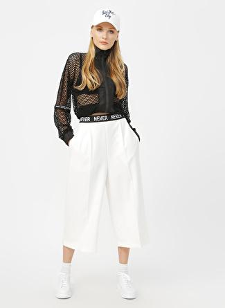 Quzu Beyaz Pantolon
