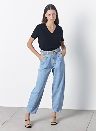 İpekyol V Yaka Basic Bluz